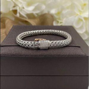 NEW John hardy classic dimond cable bracelet